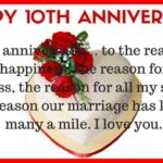 10 Years Wedding Anniversary Message Twitter