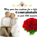 10th Marriage Anniversary Wishes For Wife Tumblr