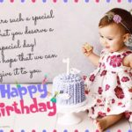 1st Birthday Wishes For Baby Girl Twitter