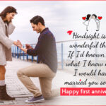 1st Wedding Anniversary Quotes For Wife Facebook