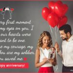 1st Wedding Anniversary Wishes For Wife Pinterest