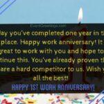 20 Year Work Anniversary Message Pinterest
