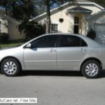 2004 Toyota Corolla For Sale By Owner