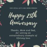 25th Anniversary Quotes For Parents Twitter