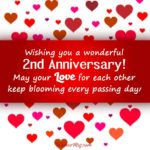 2nd Anniversary Wishes For Husband Twitter