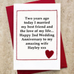 2nd Marriage Anniversary Quotes