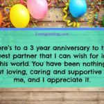 3rd Wedding Anniversary Quotes Pinterest
