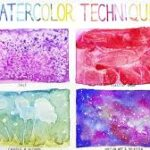 4 Basic Watercolor Techniques for Beginners