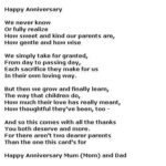 40th Wedding Anniversary Poems Funny Tumblr