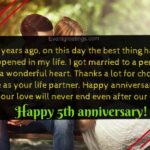 5th Anniversary Quotes For Wife Facebook