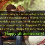 5th Wedding Anniversary Quotes For Husband Twitter