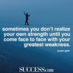 A Quote About Strength Facebook
