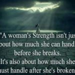 A Woman's Strength Quotes Facebook