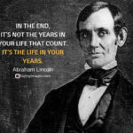 Abraham Lincoln Most Famous Quote Twitter