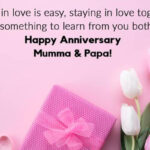Anniversary Wishes For Mom Dad