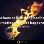 Arnold Bennett Quotes Twitter