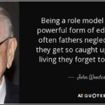 Being A Role Model Quotes