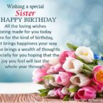 Best Birthday Wishes For Sister Facebook