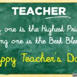 Best Message For Teachers Day Facebook