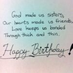 Best Quotes For Sister Birthday Twitter