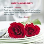 Best Wedding Anniversary Wishes For Wife Twitter