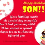 Birthday Greetings For Son Tumblr