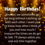 Birthday Message For Brother Tumblr