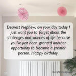 Birthday Quotes For Nephew