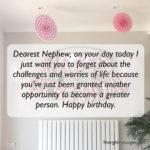 Birthday Quotes For Nephew