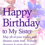 Birthday Quotes For Special Sister Pinterest