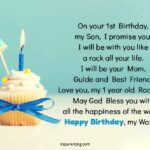 Birthday Wishes For Baby Boy 1st Birthday Pinterest