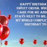 Birthday Wishes For Crush Male