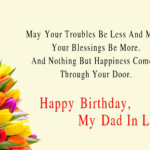 Birthday Wishes For Father In Law Tumblr