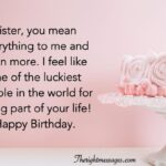 Birthday Wishes For Sister From Another Mother Twitter