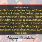 Birthday Wishes For Sister In Law Twitter