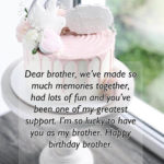 Birthday Wishes For Younger Brother Facebook