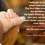 Birthday Wishes From A Mother To Her Son