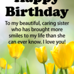 Birthday Wishes To My Sister Twitter