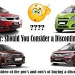 Buying a Car: Should You Consider a Discontinued Model