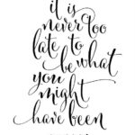 Calligraphy Quotes About Life Pinterest