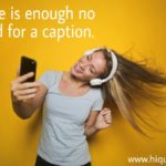 Caption On Girls Pinterest