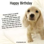 Captions For Dogs Birthday Twitter