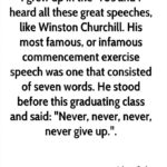 Churchill Commencement Speech Facebook