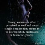 Cold Woman Quotes