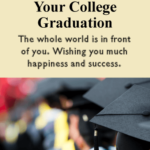 College Graduation Message To Daughter Tumblr