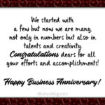Company Anniversary Greetings Tumblr