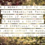 Corrie Ten Boom Quote About Worry Facebook