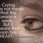 Crying Girl Quotes Tumblr