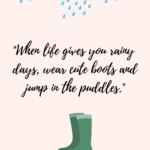 Cute Rain Quotes Facebook