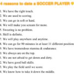 Dating A Soccer Player Quotes Tumblr
